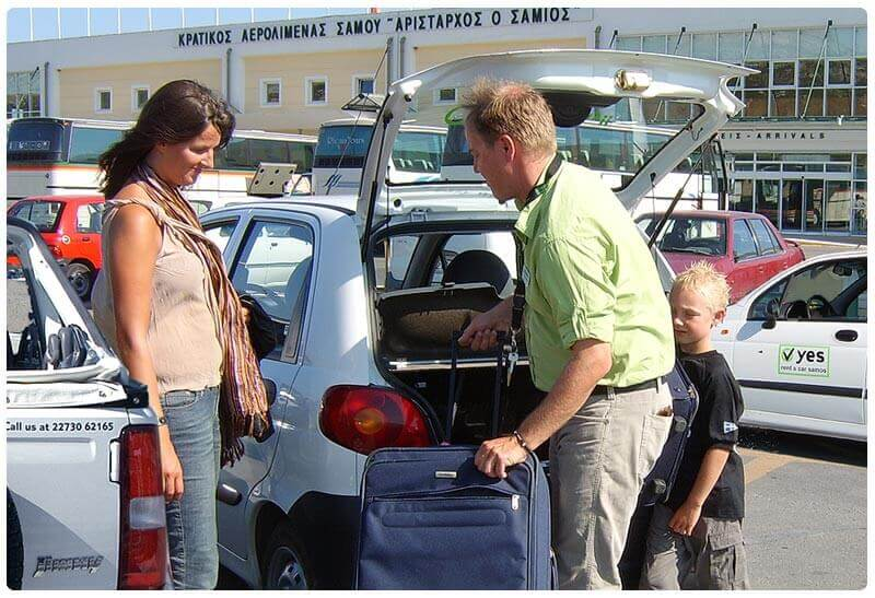 yes rent a car Airport service